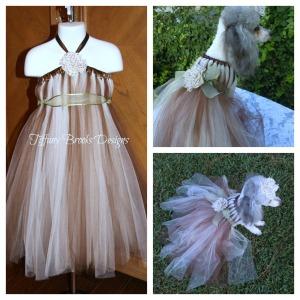 Jossie Tutu Dress Collage