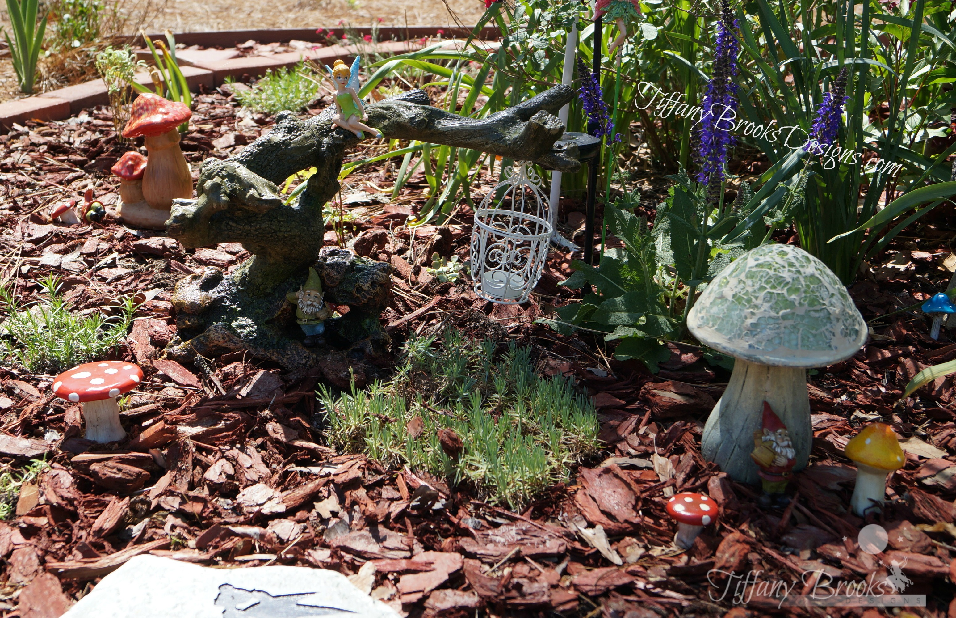 Mushroom Fairy House Tiffany Brooks Designs