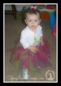 First Birthday Tutu TiffanyBrooksDesigns