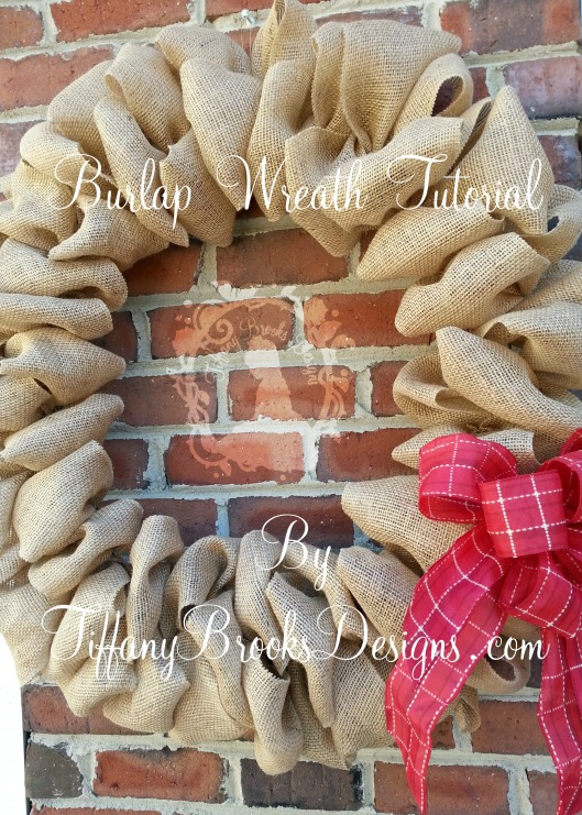 Burlap Wreath Tutorial Cover