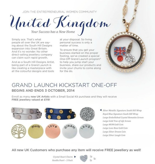UK Grand Launch Promo Oct 3, 2014