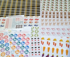 Paper Loving Mommy Stickers